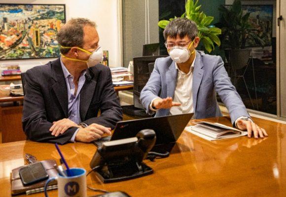El temor al coronavirus llegó al metro de Bogotá