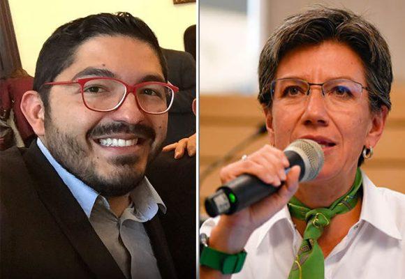 El aplauso del Pastor Uribista Oswaldo Ortiz a la represión de Claudia López