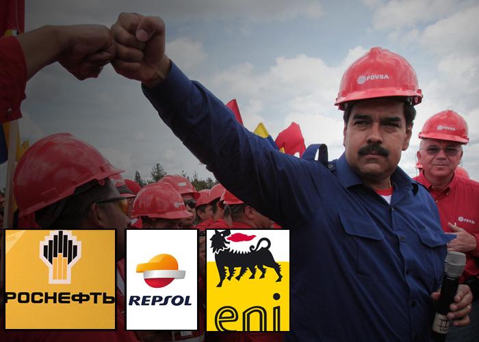 Maduro le entrega el control del petróleo a capital extranjero