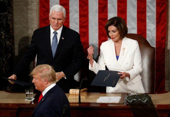 La ira de Nancy Pelosi con Trump. Video