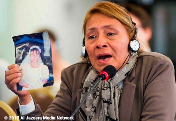 La mamá ecuatoriana decidida a encontrar al violador que llevó al suicidio a su hija