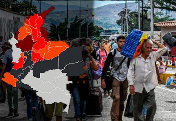 ¿Dónde están los 1'700.000 de venezolanos en Colombia?