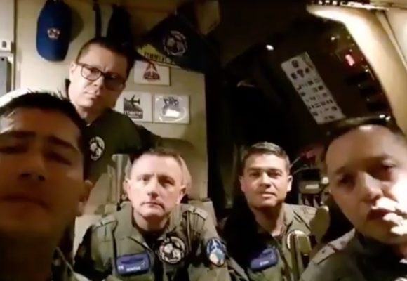 Operación rescate de los 13 colombianos en Wuhan, China