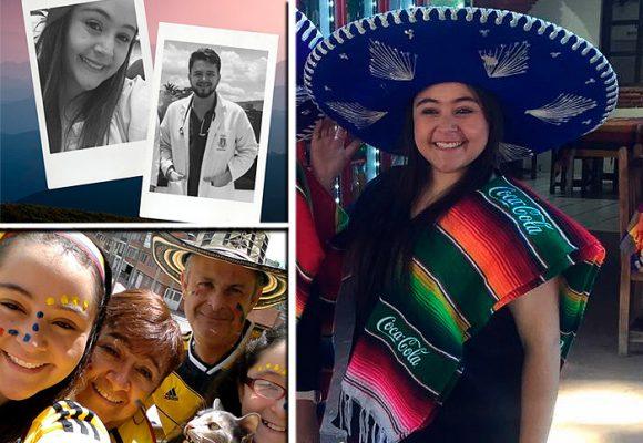 La vida feliz que llevaba la colombiana asesinada en México