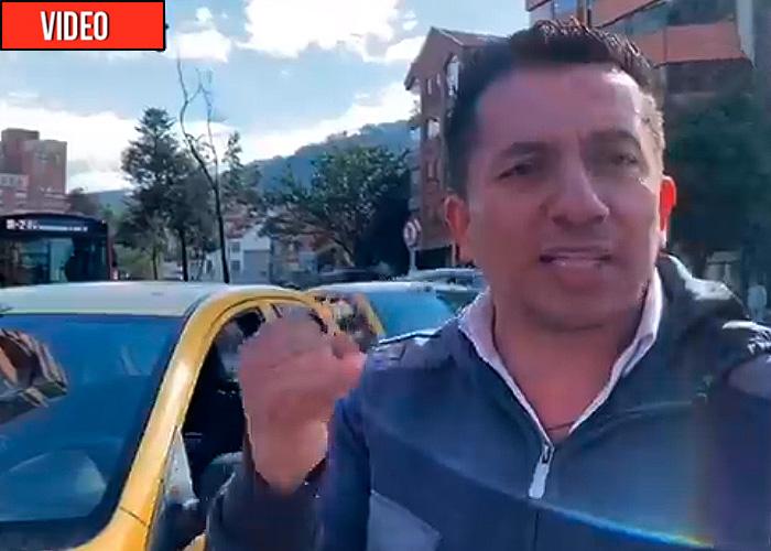 El drama de un taxista por el regreso de Uber a Colombia. Video
