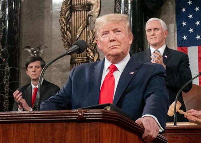 Trump, declarado inocente por el senado norteamericano