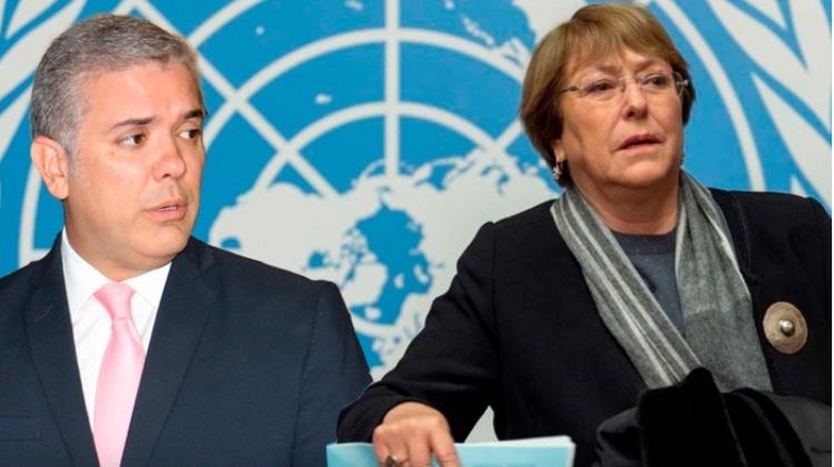 La ONU volvió a rajar a Colombia