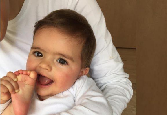 Sobre la paternidad y la sonrisa de Elena
