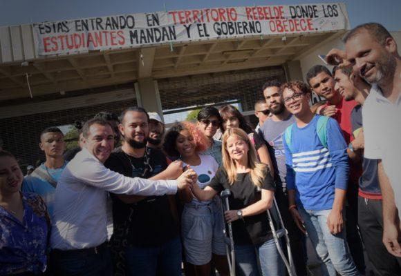 El acuerdo de Elsa Noguera con los estudiantes de la U. del Atlántico