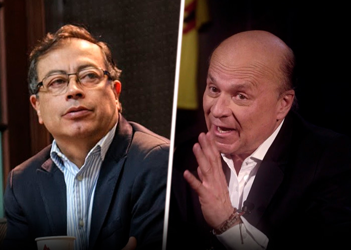 Gustavo Petro no se aguanta que Carlos Antonio Vélez le diga asesino y lo demanda