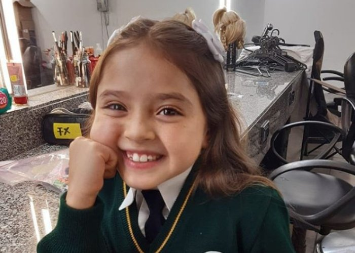 Hanny Vizcaíno, la pequeña actriz de Pa' quererte que salvó a RCN