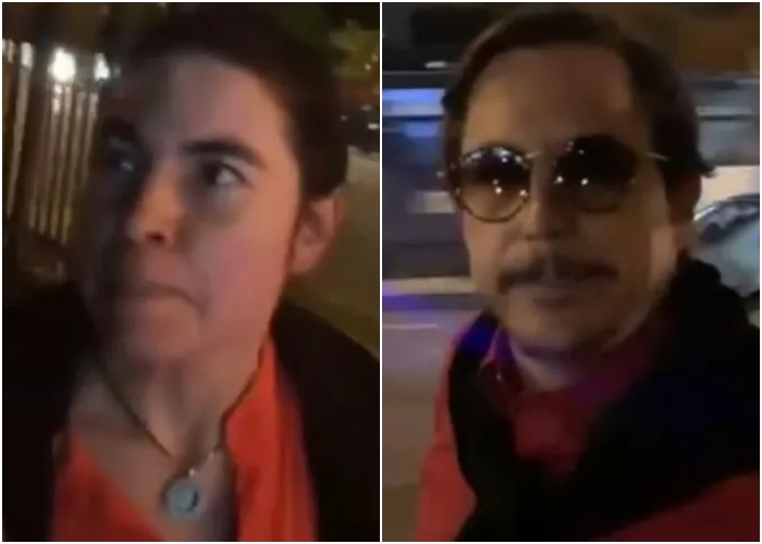 VIDEO: La burla de Juanpis González a mujer xenófoba