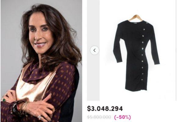 Burlas a Pilar Castaño por vender prendas usadas en más de 3 millones