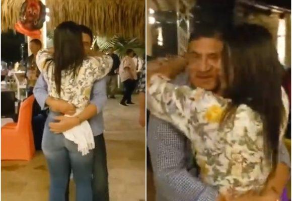 VIDEO: Poncho Zuleta sigue coqueteando con jovencitas