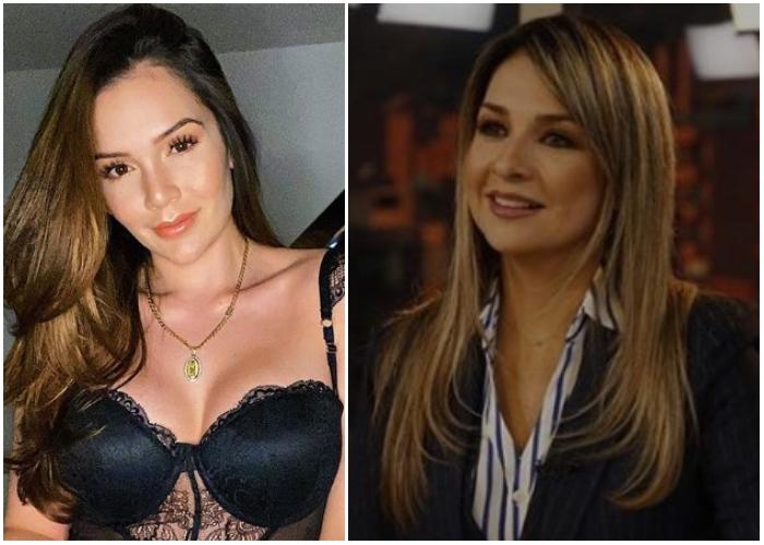 Saboteada de Lina Tejeiro a Vicky Dávila