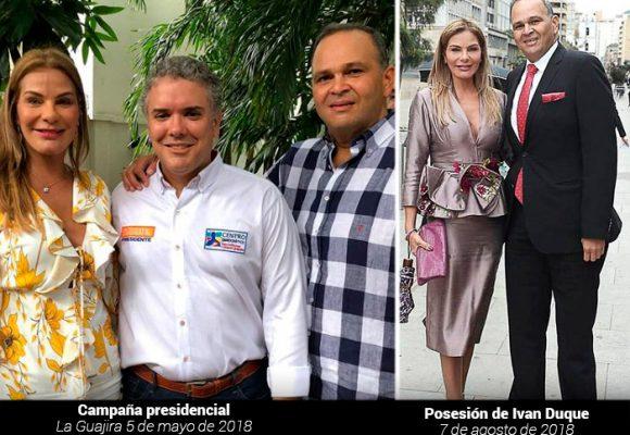 El circulo de poder uribista con el que se rozaba el Neñé Hernández