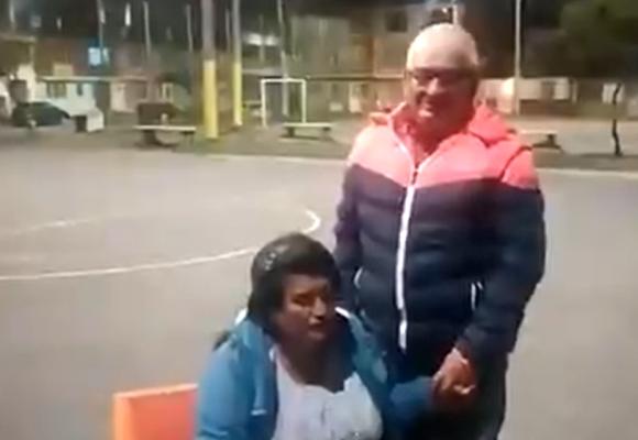 La pareja de ancianos bogotanos a la que echaron a la calle por no pagar el arriendo