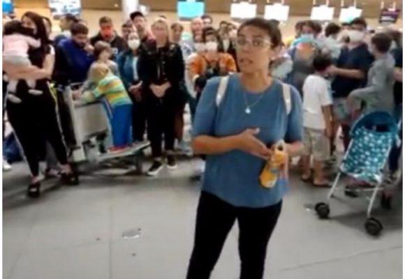 VIDEO: argentinos atrapados en aeropuerto El Dorado suplican ayuda