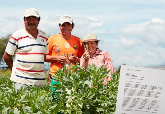 Carta a los campesinos colombianos