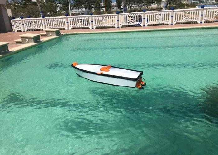 Primer dron acuático cazador de embarcaciones ilegales es barranquillero