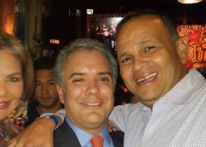 A Duque le sacan a relucir su amistad con el Ñeñe Hernández