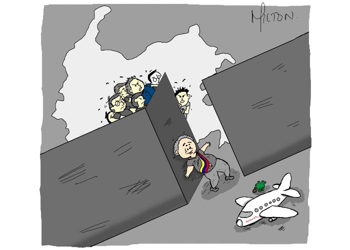 Caricatura: Cuando no hay sincronía