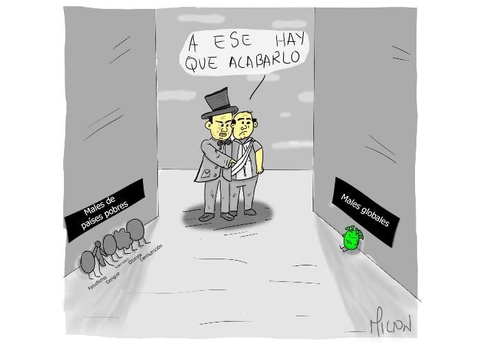 Caricatura: La democratización de los males