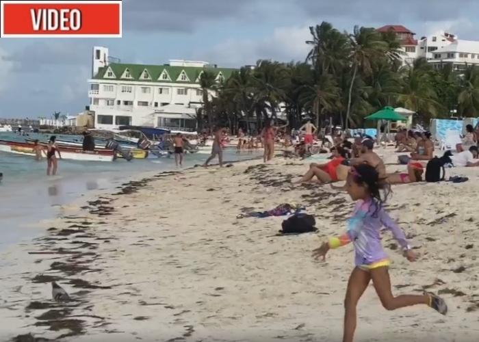 VIDEO: Las playas de San Andrés siguen llenas a pesar del Coronavirus