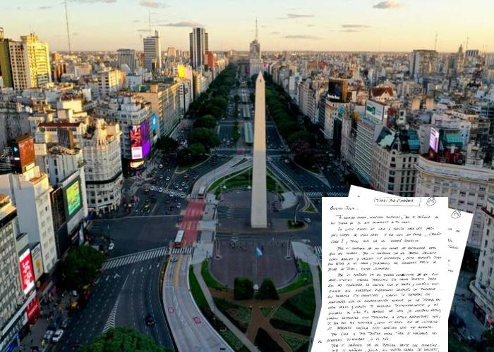 Carta de una colombiana desde el aislamiento obligatorio en Argentina