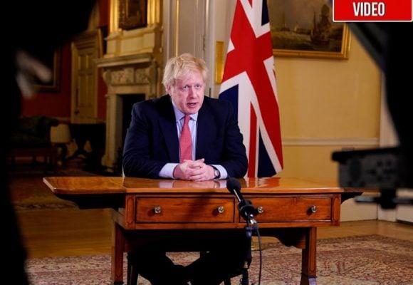Cuando Boris Johnson se creía inmune al Coronavirus