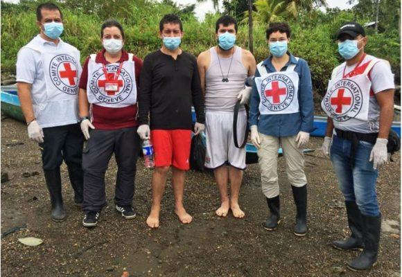La Cruz Roja a todo vapor en medio de la pandemia