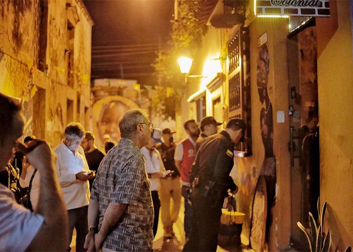 Cartagena en toque de queda: alcalde pasa revista a los hoteles
