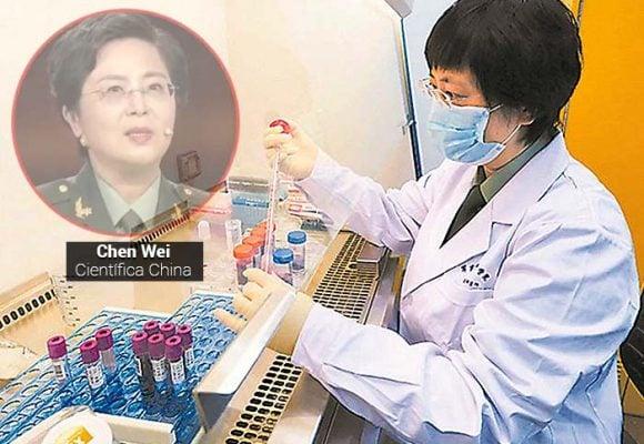 Chen Wei, la científica que lidera la vacuna china