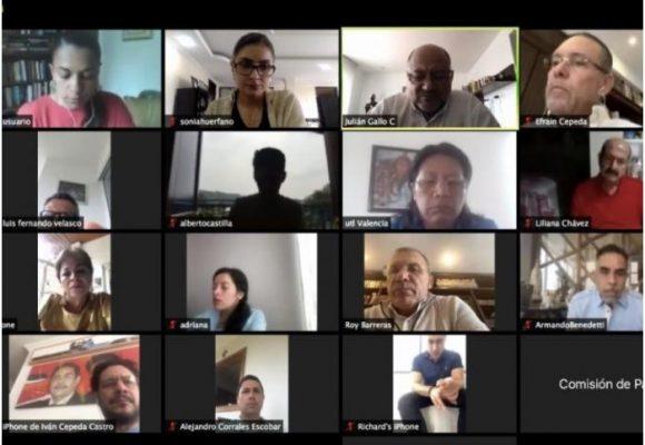 Arrancan las sesiones virtuales en el Congreso