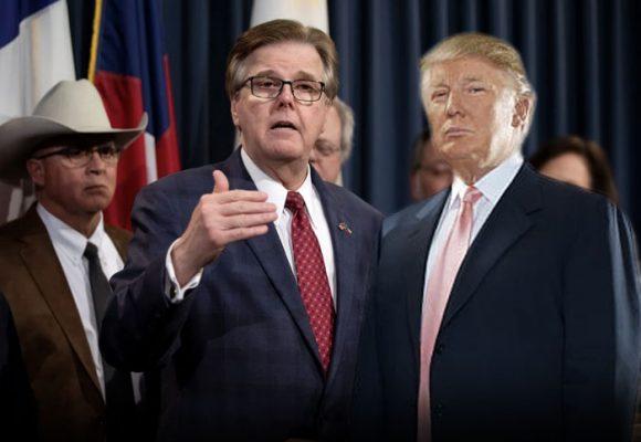 El desbocado vicegobernador de Texas: un locutor incendiario en la política