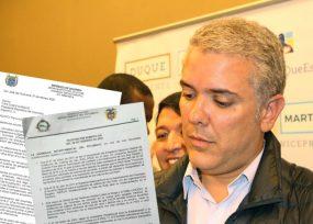 Diputados de Guaviare y Putumayo enfrentan a Duque por glifosato