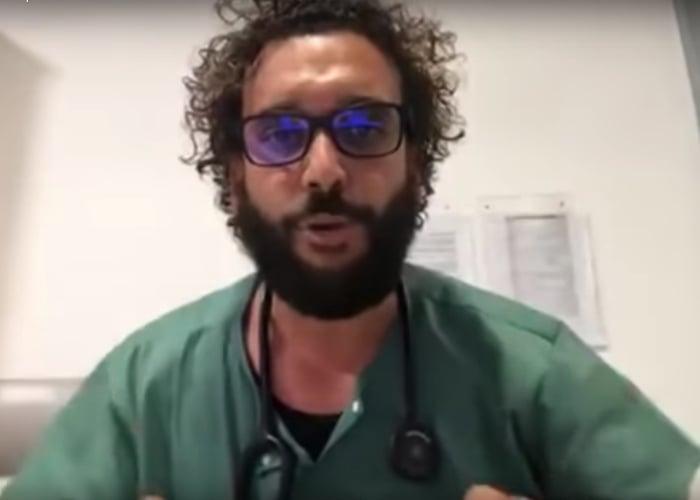 VIDEO: La furia de un médico español con los millenials por el coronavirus