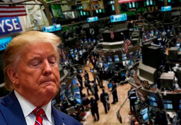 Wall Street, otro lunes negro y Trump espanta al mercado