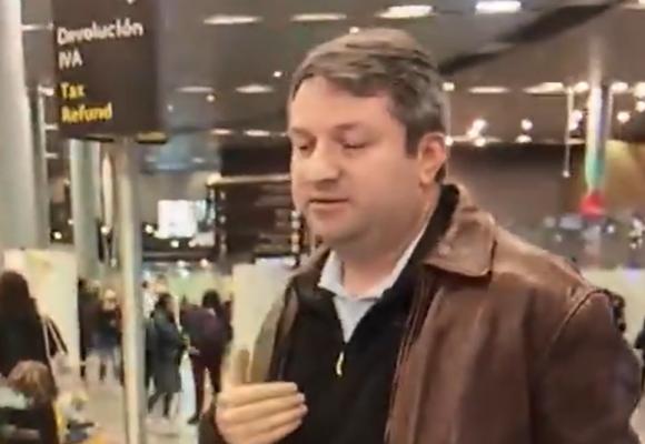 La gente que llega al Dorado no tiene ni idea qué hacer con el Coronavirus. Video