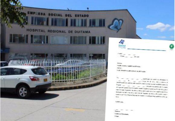 La irresponsabilidad del Hospital de Duitama con sus empleados