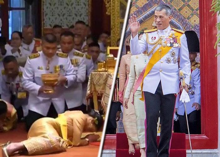 En Cuarentena con sus 20 concubinas: el lujoso aislamiento del Rey de Tailandia