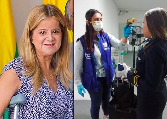 Oportunas acciones de la gobernadora del Atlántico tienen el coronavirus a raya