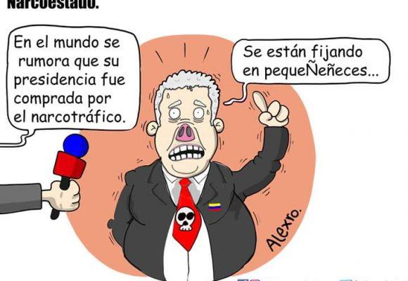 Caricatura: Narcoestado