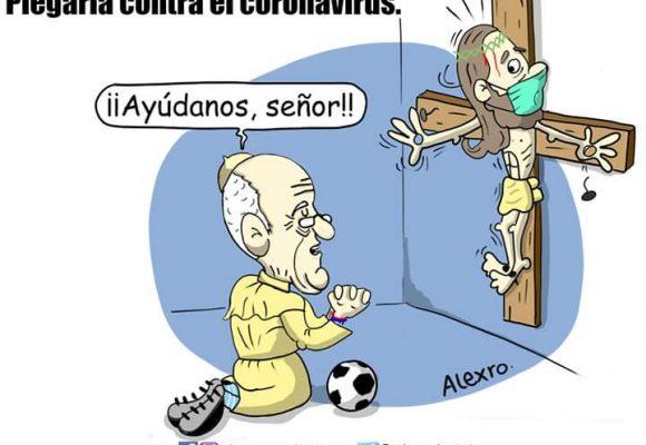 Caricatura: Plegaria contra el Coronavirus