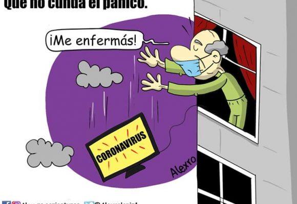 Caricatura: Que no cunda el pánico