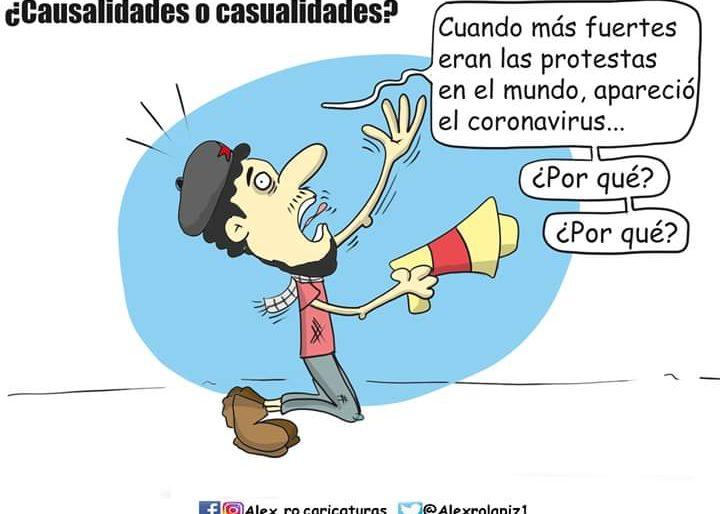 Caricatura: ¿Causalidades o casualidades?