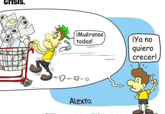 Caricatura: Crisis