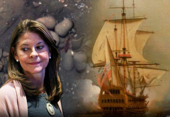 Cuatro preguntas a la vicepresidenta sobre el galeón San José