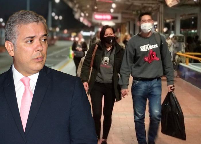 """""""Me dan más miedo las medidas del gobierno que el Coronavirus"""" lluvia de críticas a Duque"""