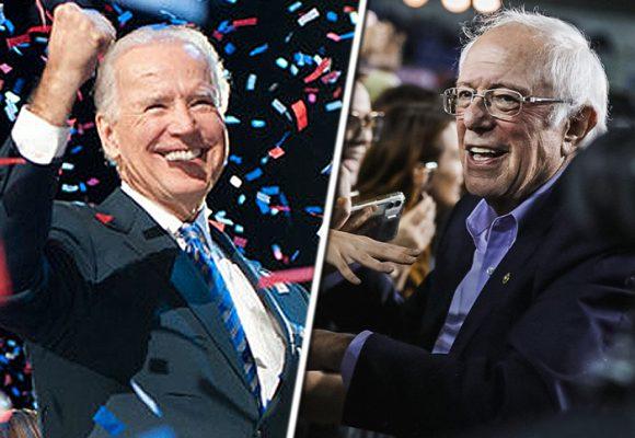 Joe  Biden y Bernie Sanders en el cabeza a cabeza por la candidatura demócrata